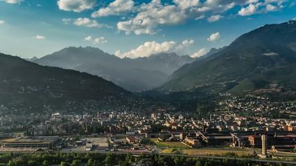 città di montagna