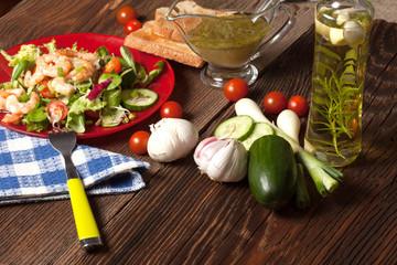 Mix salad.