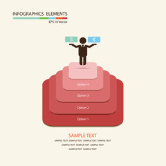 Vector business infographics elements eps 10