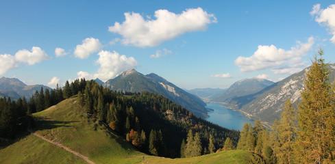 Berglandschaft am Achensee