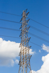 tower of high voltage power