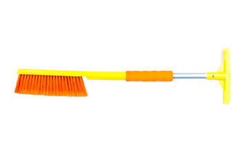 car brush isolated on white background