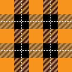 orange tartan plaid  pattern