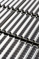 Zellen eines Solarpanels für Sonnenenergie