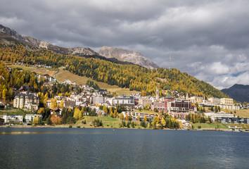 Hotels und Natur in St. Moritz