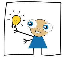 Idée lumineuse