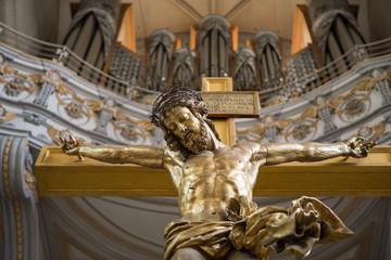 The Christ on cross