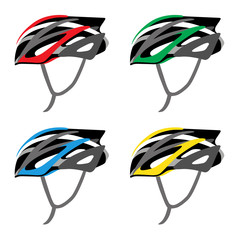 BICYCLE SAFETY HELMET