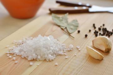 Sea salt and spices