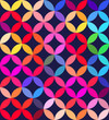 Abstract colorful patterned background illustration