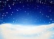 Schnee Kulisse, Nacht