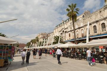 Quai et front de mer de Split