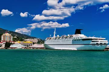 crimea sea port ship