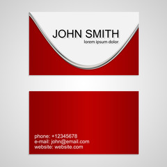 Vector creative business cards.