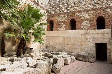 Ruine antique - Palais de Split