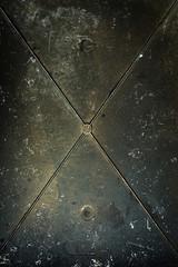 Metal surface.