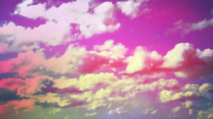 sunrise colorful sky pink