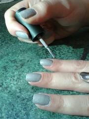 Unghie col grigio