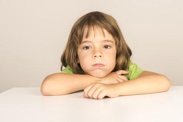 bored little girl