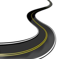 highway zigzag