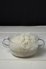 Bowl of white rice
