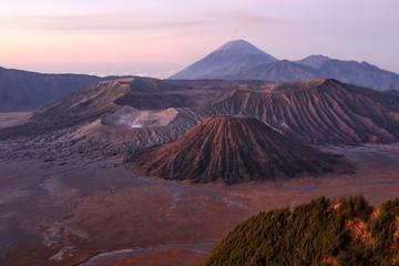 view of the volcano Bromо