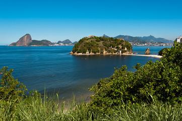 Rio de Janeiro view from Niteroi