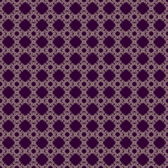 Seamless golden & purple abstract backbround