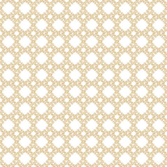Seamless golden & white abstract background