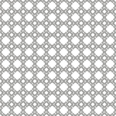 Seamless silver & white pattern