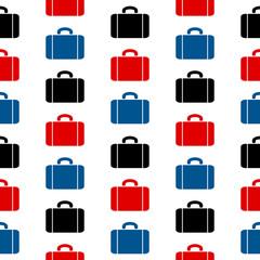 Portfolio symbol seamless pattern