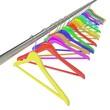 canvas print picture - color  hangers