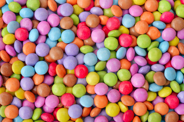 Multicolor candies