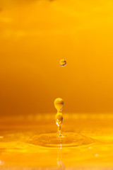 L'impatto di una goccia d'acqua