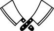 Butcher Knifes Cleaver - 71460106