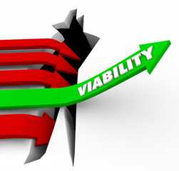 Viability Arrow Rises Possible Potential Success Feasibility
