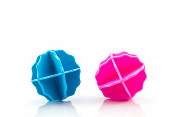 Colorful of washing ball.