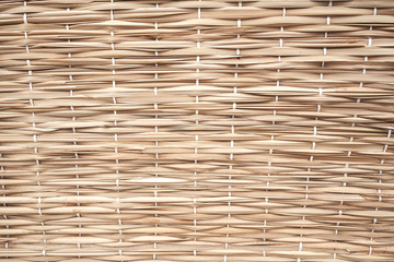 Dry wicker surface background texture
