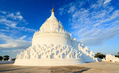 Hsinbyume pagoda, Mingun, Mandalay, Myanmar
