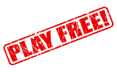 Play free red stamp text