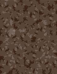 Dark Brown Leaves