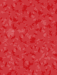 Red Maple Background