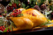 Christmas Turkey Prepared For Dinner - 71463149