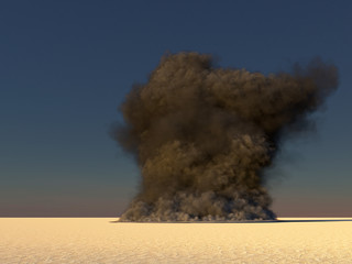 large smoke