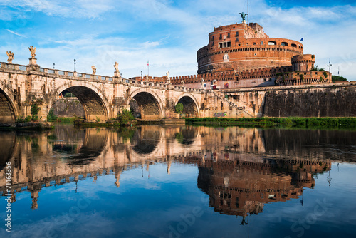 Poster Castle Sant Angelo, Rome