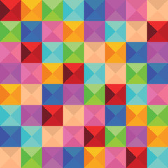 abstract background of triangle color