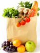 paper shopping bag full of products - 71463918