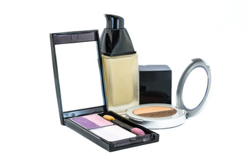 Eye shadow and Cream bottle