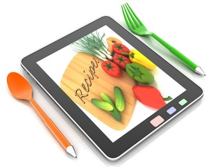 the food in the Internet