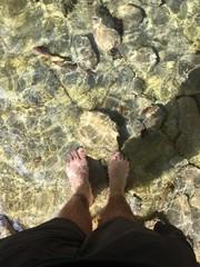 piedi al fresco